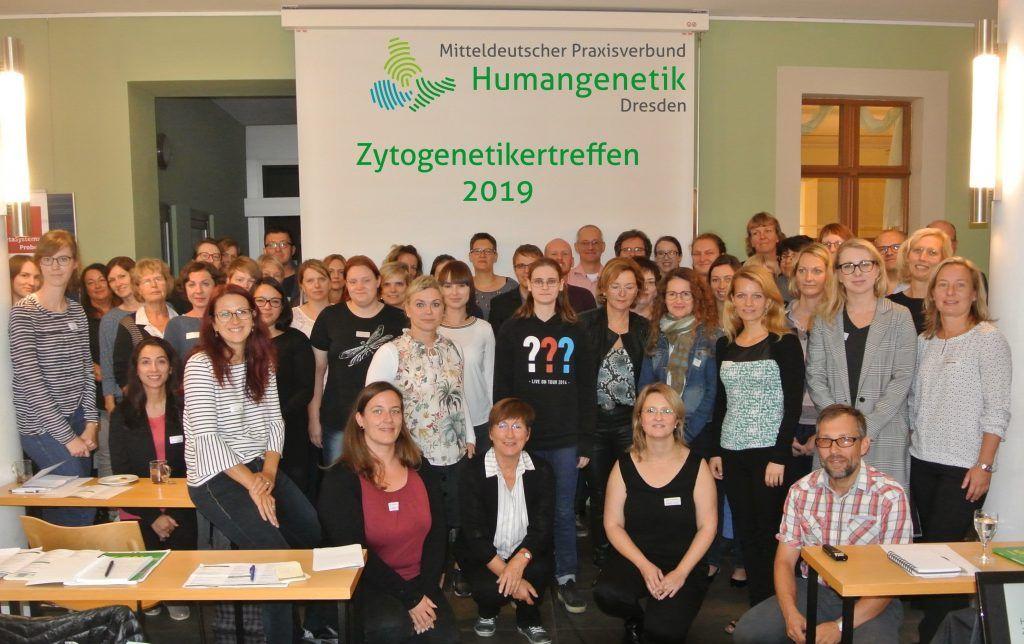 Zytogenetikertreffen 2019 Gruppenbild